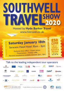 Southwell Travel Show 2020